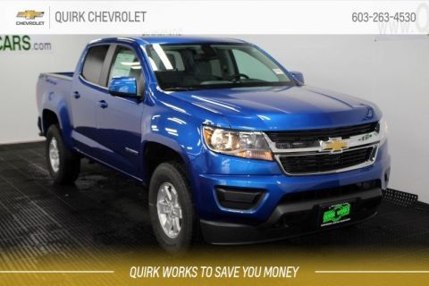 2019 Chevrolet Colorado Crew Cab Work Truck 4X4