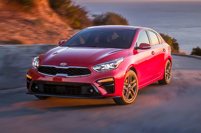 Kia Forte #1 J.D Power