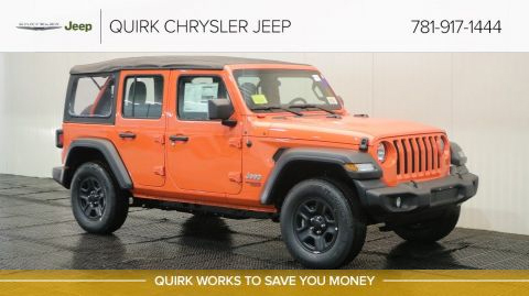 2018 Jeep Wrangler JL Unlimited 4DR