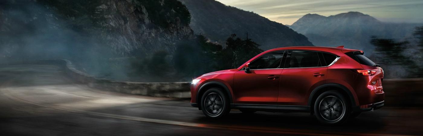 Mazda SUV Driving