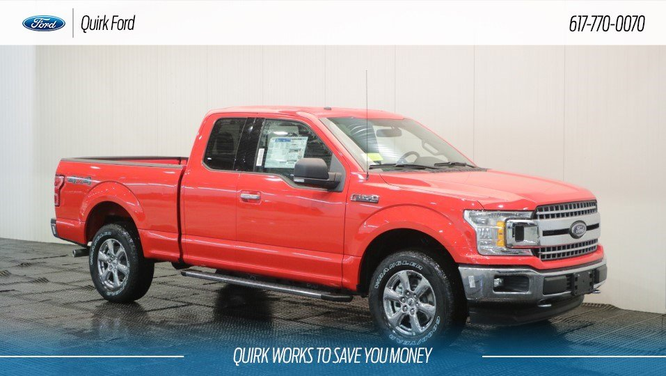 2018 Ford F150 XL Super Cab 4x4