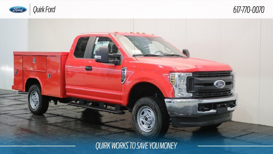 2018 Ford F250 XL READING SL SPACEMAKER SERVICE BODY 4WD