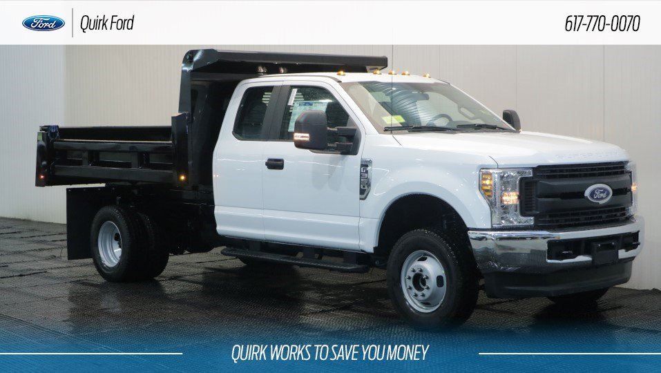 2018 Ford F350 DRW XL 9' RUGBY ELIMINATOR LP DUMP 4WD