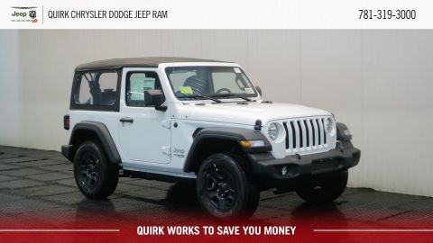 2018 Jeep Wrangler JL Unlimited Sport 2 DR 4x4