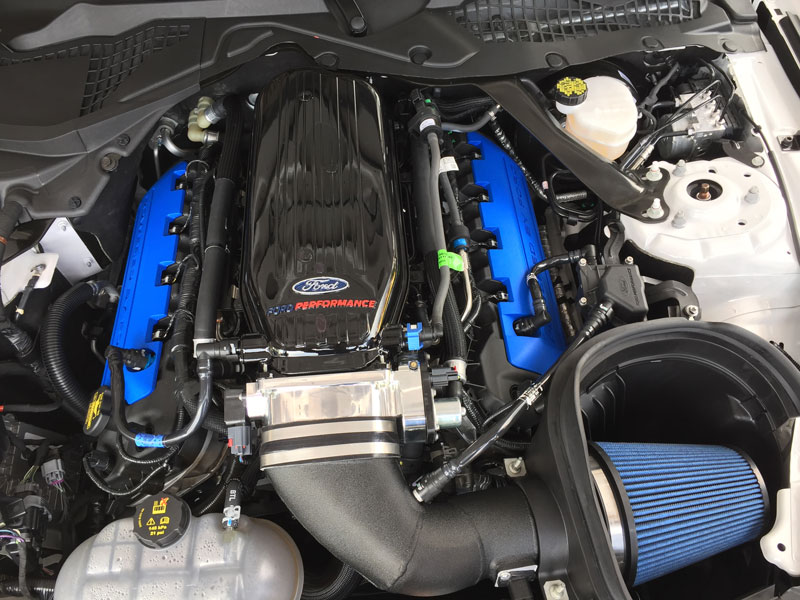 Mustang GT350 Engine Bay