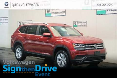 2019 Volkswagen Atlas S 3rd Row Seat AWD