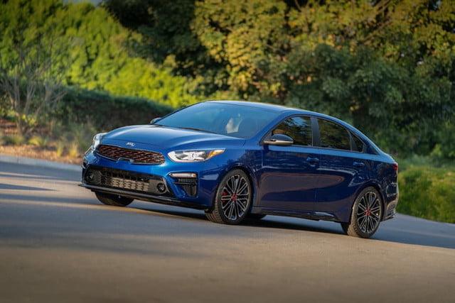 2020 Kia Forte GT Blue