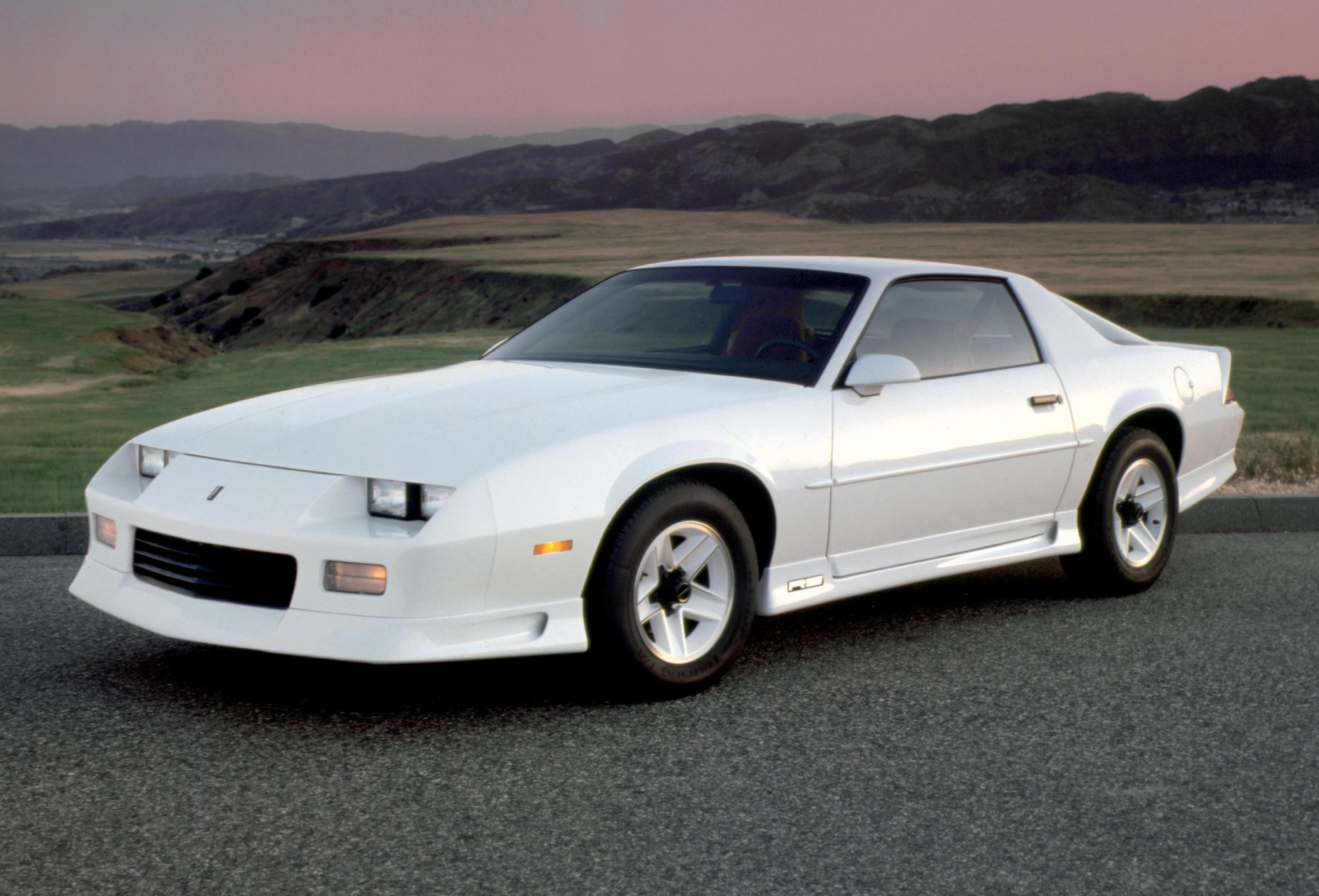 gen 3 Camaro white