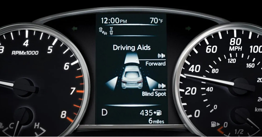 2019 Advanced Drive-Assist Display Driving Aids