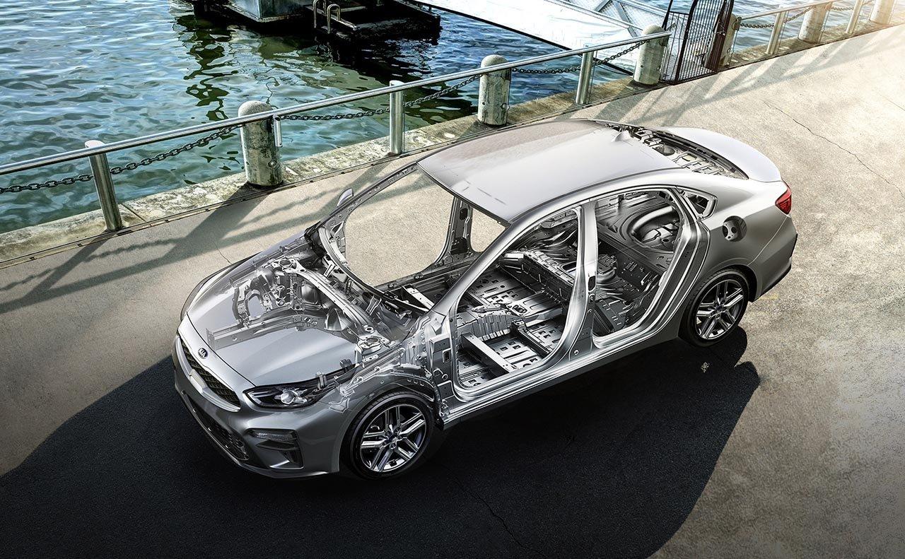 2019 Kia Forte high strength steel body