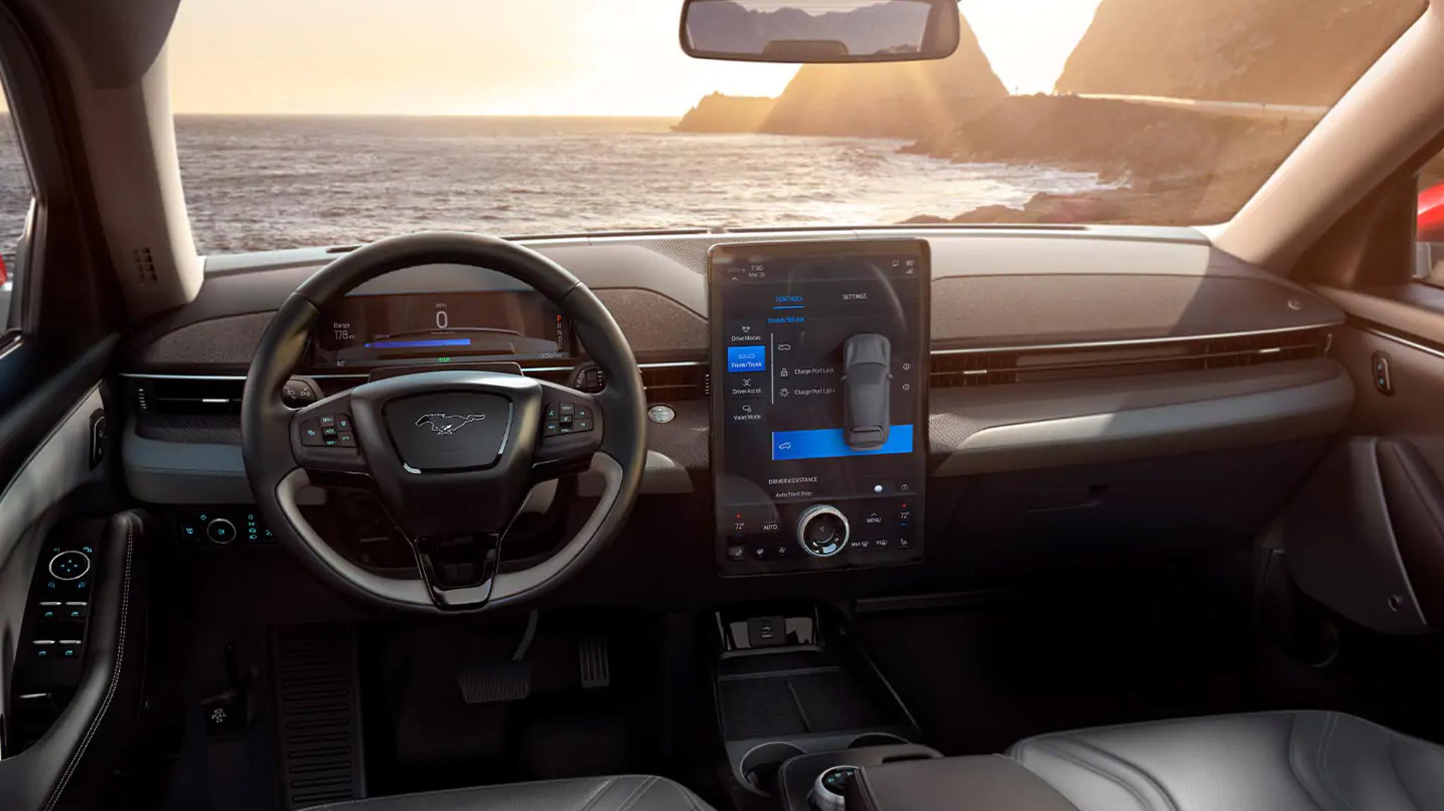 Mache-E Mustang Interface