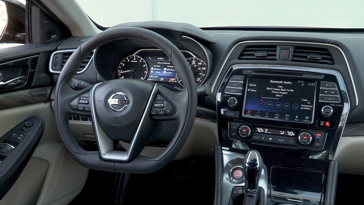 New 2018 Nissan Maxima Interior