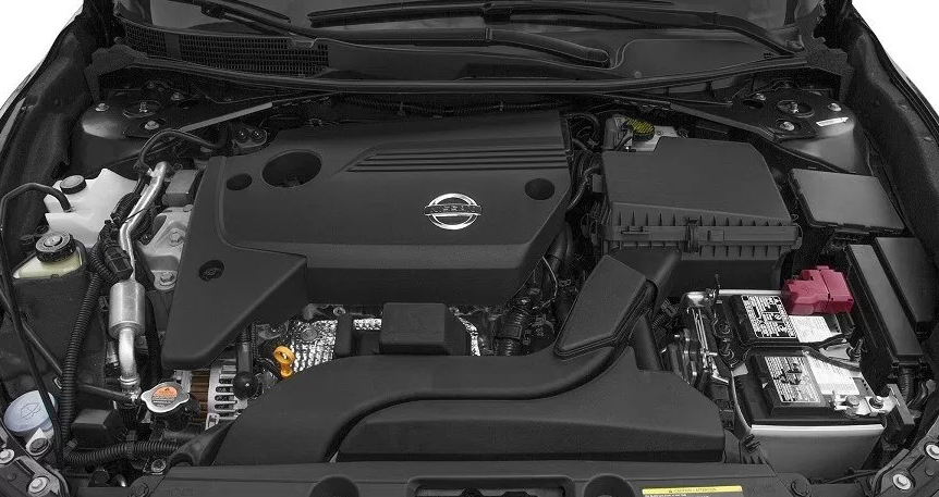 2018 Nissan Maxima Under The Hood