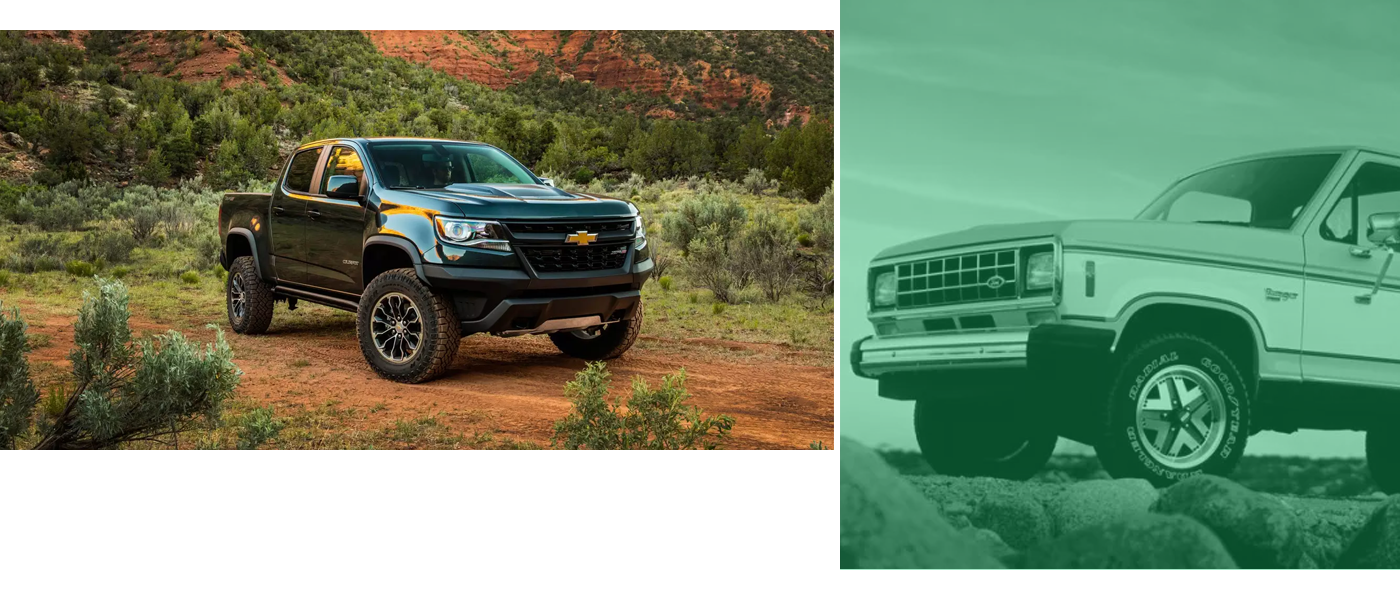 Chevrolet Colorado and Ford Ranger