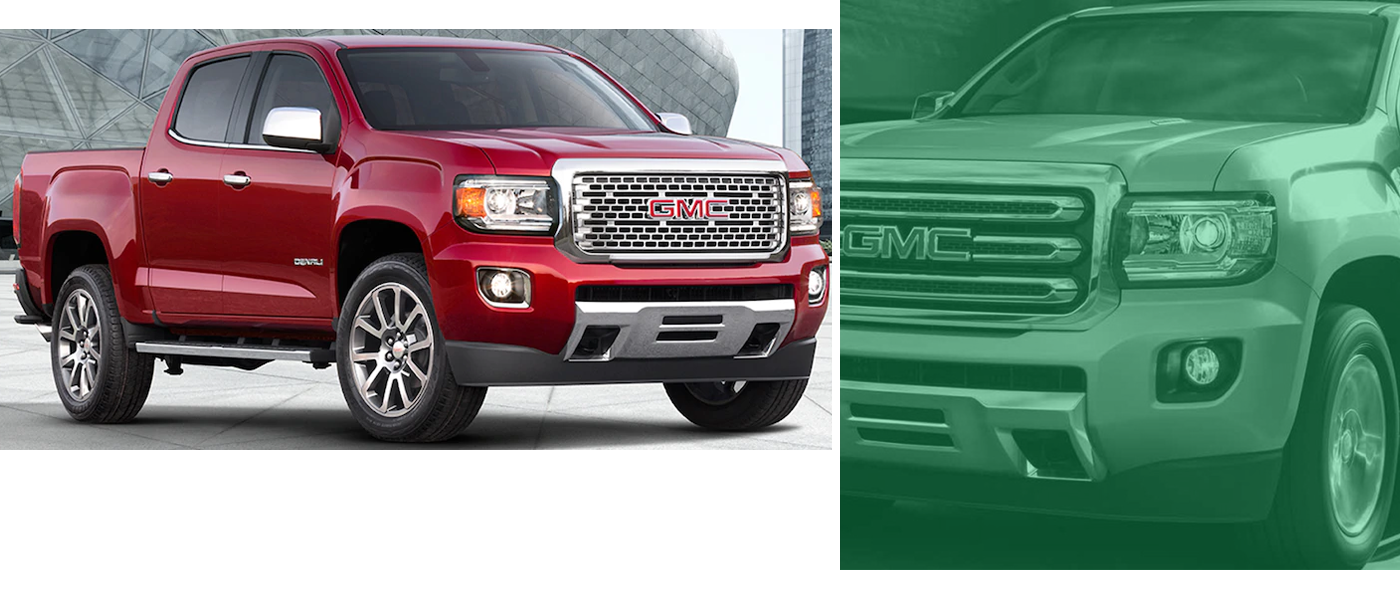 2018 GMC Canyon maroon