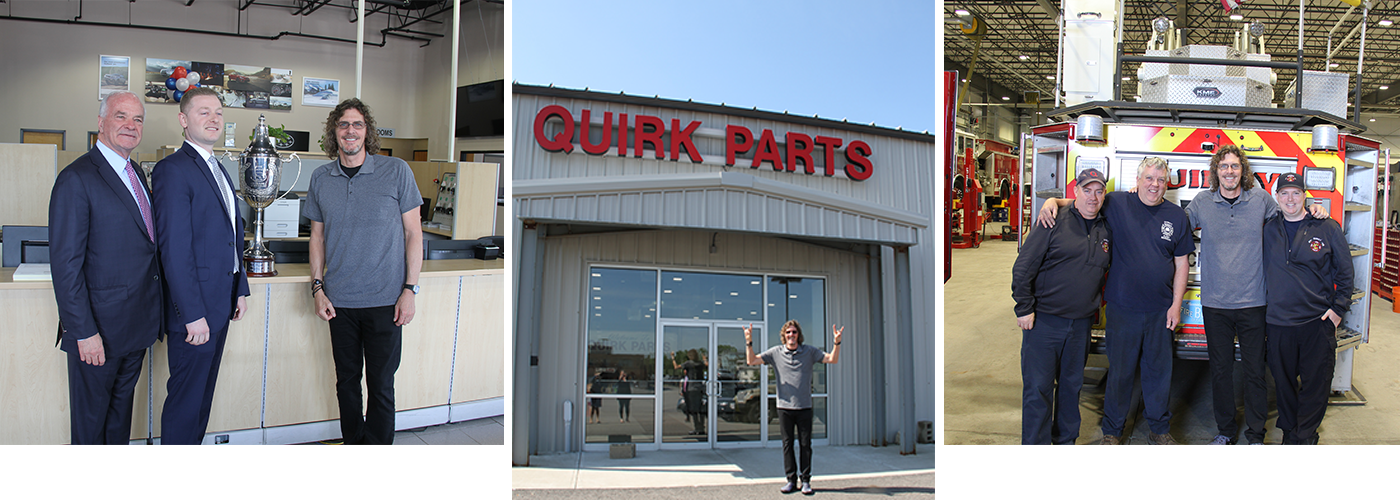 Quirk Auto Parts Ernie Boch JR.