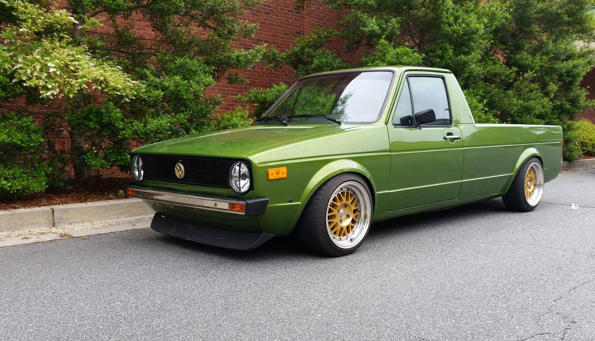 Vw Diesel Truck >> A Pickup Truck With Rabbit Ears Quirk Cars