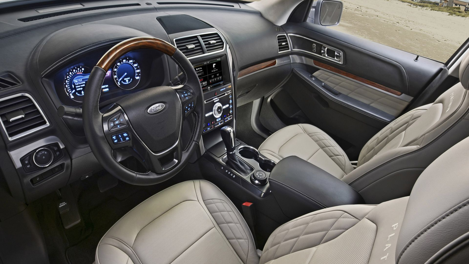 2019 Ford Explorer Interior and Technology