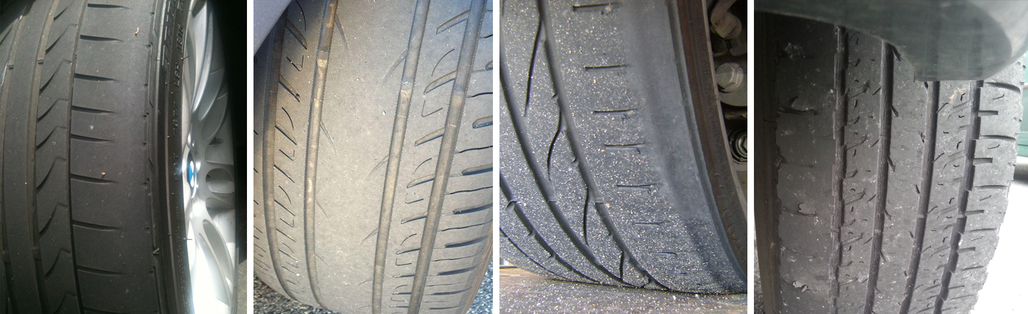 Signs of tire wear